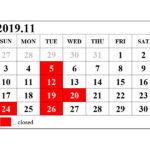 Information!! 2019.11