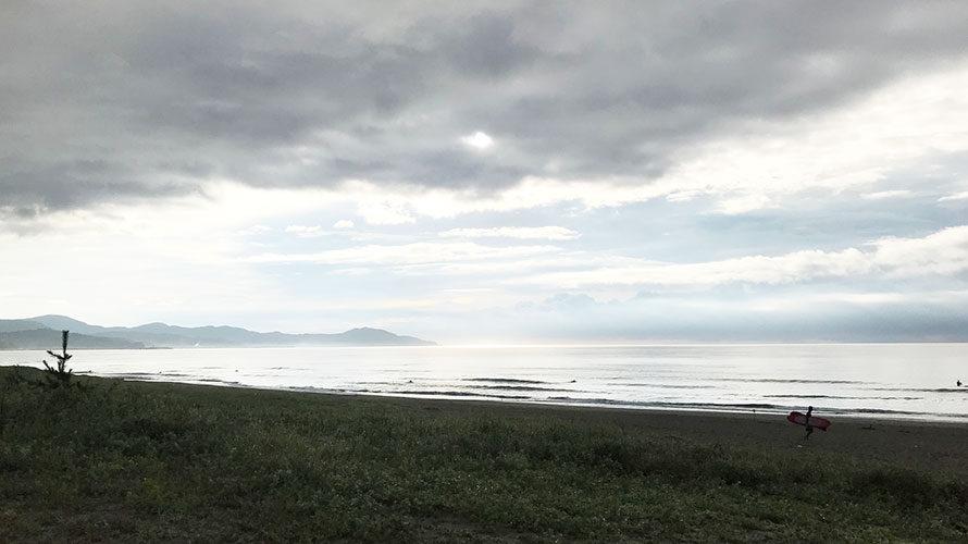 潮の動きに要注意!実は満潮波がよかった太平洋9.03