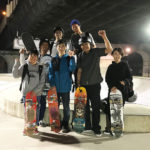 スケートボード年忘れツアー!ばら池スケートパーク大阪まで行ってみた