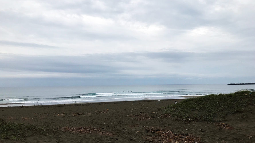 【いい波だけど相変わらず難しい波】