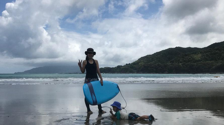 夏休み、初サーフィンと高知旅行